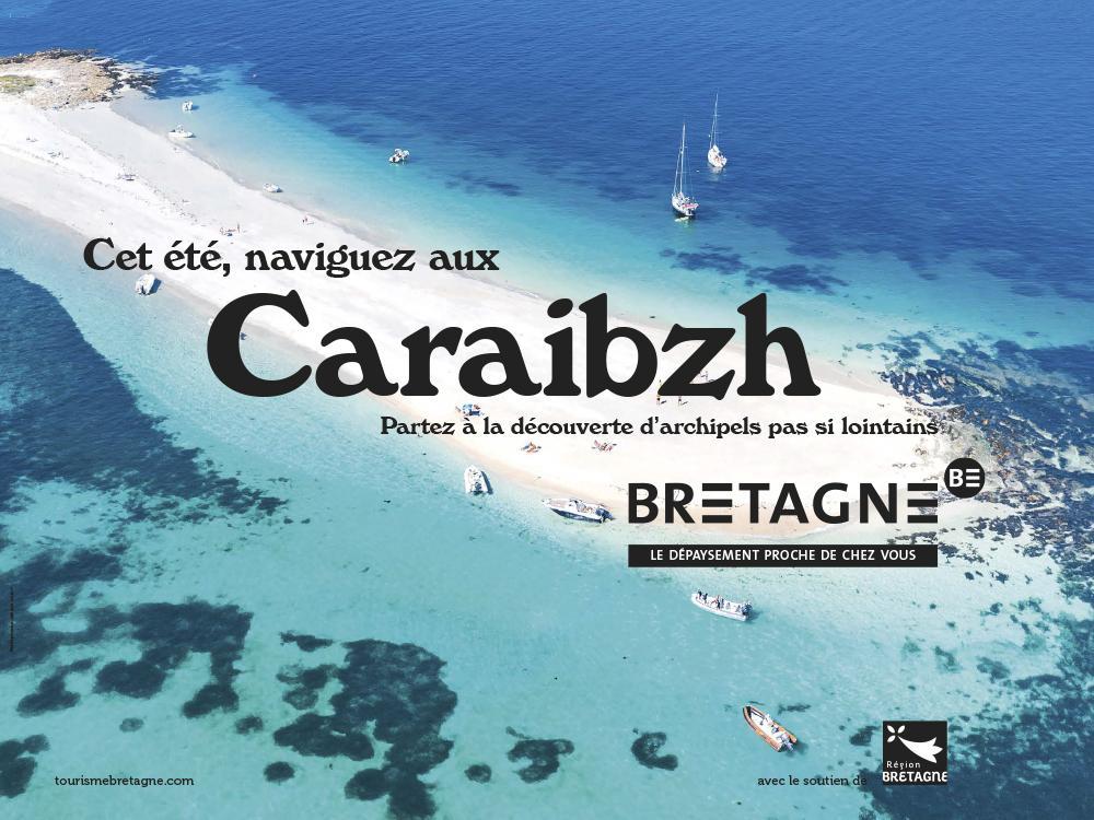 Kit digital campagne tourisme 4 visuels officiels paysage caraibzh a thibault poriel